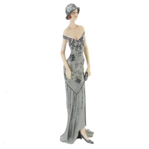 Art Deco Lady Figurine Broadway Belles Midnight Shimmer by Julian - Peggy 60748